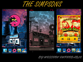 The Simpsons by Wasteandwanting