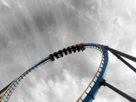 Surreal Roller Coaster Photography 1 by Randomman295