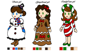 Christmas Adopts [Closed] by PrincessArtist2009