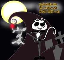 Scaredy Skellington Nightmare Before Christmas by goingunder9