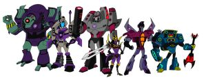 The Decepticons by AleximusPrime