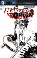 Harley Quinn by madd-sketch