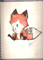lol fox by AlieTheKitsune