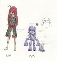 Lexi and RuRu - color by Falling-Wish