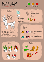 WASGON - Species Guide by Griwi