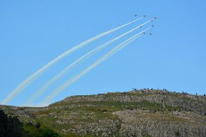 The Red Arrows at Llandudno Air Show 2015 (3) by masimage