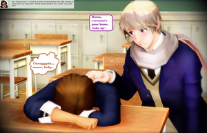 Rumano Question 265 - Asleep at school by Ask-RuMano