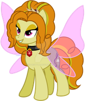Adagio Dazzle the Pony by CutieStyle