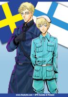 APH Sweden x Finland by ladykylie