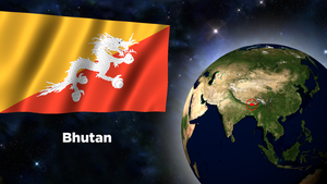 Flag Wallpaper - Bhutan by darellnonis