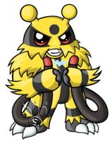 Electivire Chibi by RedPawDesigns