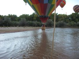 dipping the in the Rio Grande by idiotslayer