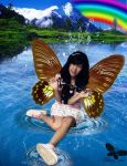 Girl Butterfly by Ababil88