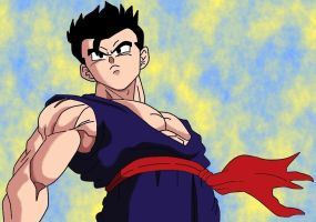 Sexy Gohan_colored by carapau