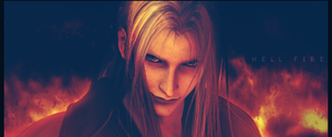 Sephiroth- Hell Fire by Chiruyto