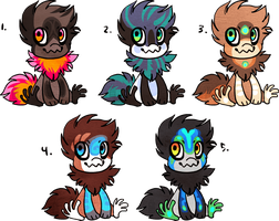 Point auction adoptables ENDED by griffsnuff