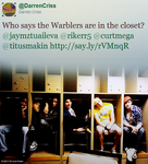 Closet Warblers by SlytherdorGirl