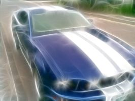Its a shinny car by goldenskl