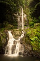 Senryuu Falls of Japan by TimGrey