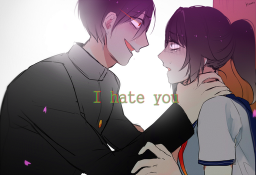 I hate you by Koumi-senpai