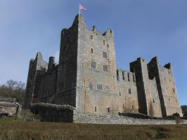 Bolton Castle 1 by StaircaseInTheDark