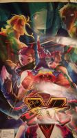 SDCC Street Fighter V autograph by alienhominid2000