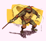 TMNT Donatello B5L colour by Laemeur