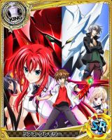 High School DxD Game [card ver.] by levantein