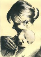 Mother and baby by Delacroix01