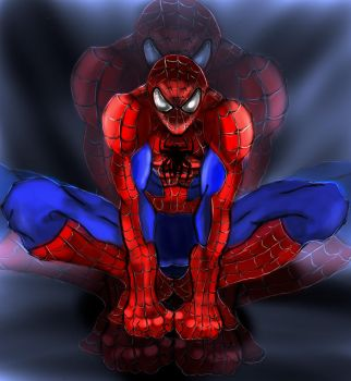 Spider-man by Undercoverpillow