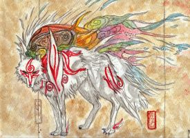 Amaterasu Omikami by Forest-Wolf