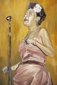 Billie Holiday by slaumann