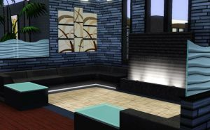 Sim house 26 - Front Room by A-han-343
