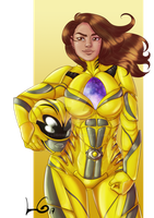 Trini Yellow Power Ranger by Lobismina