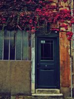Autumn Covered Door by simfonic