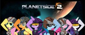MLP FIM M6 Planetside 2 by SpazzyMcnugget