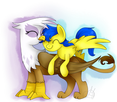 Orion and Gilda - Commission by MaggyMss