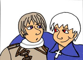 Russia X Prussia by FallOutWoman
