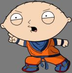 Dragonball Stewie by The-Z-Fighters