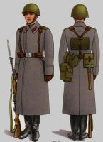 Soviet Army Uniforms 22 by Peterhoff3