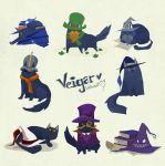 Cat Veigar by inkinesss