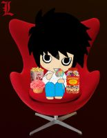 L loves his sweets by Kirsty2010dodgs