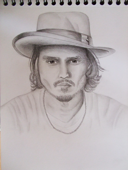 Johnny Depp by GR-the-queen