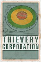 Thievery Corporation Poster by ImpetualSunday