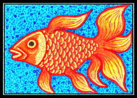 Goldfish ACEO 51 by Siobhan68