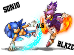 CB - Sonic vs Blaze - FINISHED by SiscoCentral1915