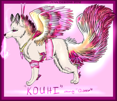 Kouhi Ref (Design commission) by AgentWhiteHawk