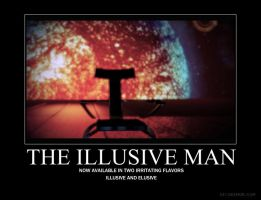 The Elusive Illusive Man by Feena-c