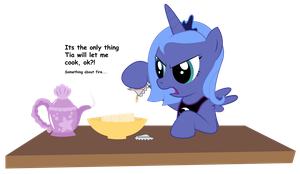 Request - Luna 'Cooking' by REPLAYMASTEROFTIME