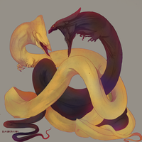 like snakes by blandcrayon